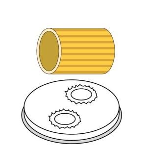 Trafila in bronzo maccheroni 15 mm per PF40E