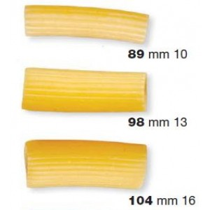 Trafile in Teflon rigatoni per P3