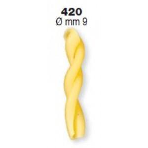 Trafila in Teflon gemelli N. 420 per P6/P12