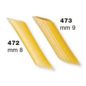 Trafile in Teflon penne per P6/P12 + tagliapasta