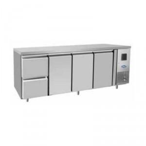Tavolo frigorifero TN 3 porte 1/1 GN + cassetiera 1/2