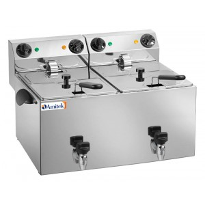 Friggitrice 2 vasche 3+3 lt - AMFE44