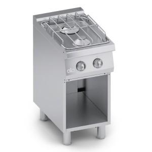 Cucina Gas 2 fuochi Top + Vano Aperto C2GCU05VV