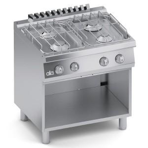 Cucina Gas 4 fuochi Top + Vano Aperto C2GCU10VV
