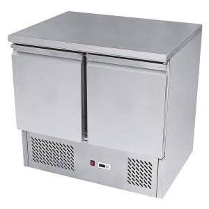 Banco refrigerato compatto a 2 porte