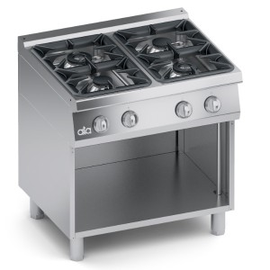 Cucina Gas 4 fuochi Top + Vano Aperto K7GCU10VV