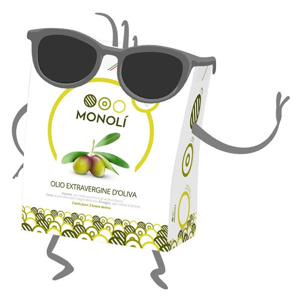 Olio extravergine d'oliva Monolì BIB 2