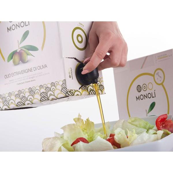 Olio extravergine d'oliva Monolì BIB 3