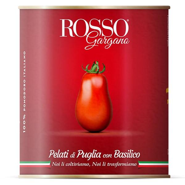 Pelati di Puglia con basilico